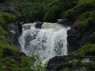 Remote Waterfall, near Ben Hope, Sutherland, Aug 2017