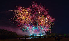 Pyrotechnics (jactoll) Tags: alcester ragleyhall warwickshire fireworks explosions sparks sony a7ii sony2470mmf28gm jactoll