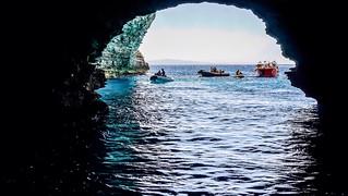 La grotte du Sdragonato, Îles Lavezzi