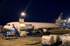 Global Africa Cargo MD-11F Z-GAA parked at SGN/VVTS (Jaws300) Tags: ramp apron terminal gate stand saigon airlines freight freighter ho chi minh city hochiminh airport mcdonnelldouglas cargo mc donnell douglas md11 md11f globalafricacargo parked africa airplane aircraft global trijet african aviation globalafricanaviation avient mcdonnelldouglasmd11 mcdonnelldouglasmd11f tansonnhat tan son nhat parking night pw4460 pratt whitney prattwhitney zimbabwe zgaa pw4000