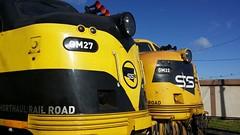 Couple of bulldogs! (tommyg1994) Tags: emd pacific national ssr gm gml class qube south dynon standard gauge turntable trains train australia railways victoria 8182 gml10 gm27 gm22 x41