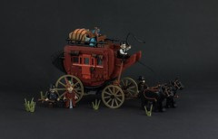 Coming soon - Wild Wild West ! (Wookieewarrior) Tags: lego moc coach wild west wester horse vehicle