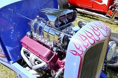 Hotrod Power (bballchico) Tags: 1932 ford roadster flames engine edknebel billetproof carshow