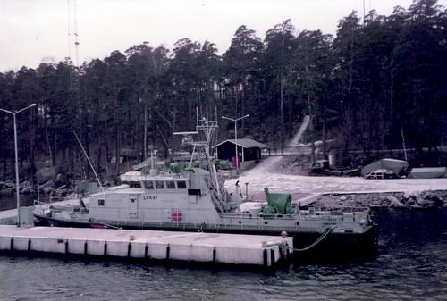 VL Lokki Kotkan merivartioaseman laiturissa