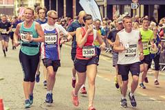 Marathon Runners 96, Simplyhealth Great Bristol Half Marathon (Jacek Wojnarowski Photography) Tags: autumn blurbackground bokeh bristol city citylife depthoffield england europe fall halfmarathon marathon outdoor people selectivefocus simplyhealthgreatbristol splittone splittoning sport uk urbanscene