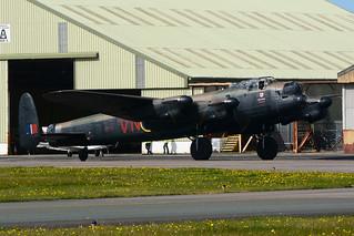 PA474 Avro Lancaster Mk.1 EGNH 17-09-17