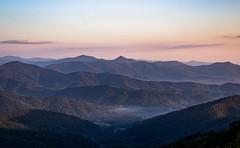 Sunrise on the Mountains (neal.cornwell) Tags: blueridgeparkway 828isgerat wnc asheville avl mountains sunrise northcarolina 828 fog
