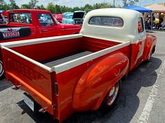 1949 Studebaker Pickup, Rear View (RadialSkid) Tags: 1949 studebaker pickup hot rod custom car truck 2 tone rear