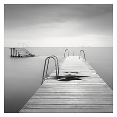 Splotch (Vesa Pihanurmi) Tags: pier jetty sea seascape spot splotch stain beach amager copenhagen denmark longexposure strandpark