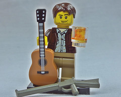 Brick Yourself Custom Lego Figure Becks, Slugs and Rock n Roll