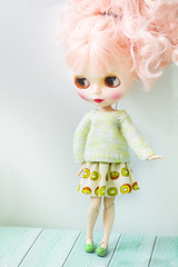 Blythe new outfit with kiwi