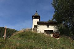 chapelle des Meyes (bulbocode909) Tags: valais suisse grimentz lesmayes valdanniviers chapelles montagnes nature forêts arbres vert bleu cabanedesbecsdebosson chapelledesmeyes