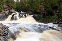 The Cascades (TwinCitiesSeen) Tags: silverbay minnesota tettegouchestatepark baptismriver thecascades river waterfall canon6d tamron2875mm longexposure