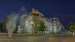 Eisenhower Executive Office Building Pano (D. Scott McLeod) Tags: washington dc washingtondc districtofcolumbia dawn dscottmcleod scottmcleod eisenhowerexecutiveofficebuilding panorama bluehour architecture nationalhistoriclandmark
