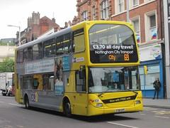 NCT 912 YT61GPF Upper Parliament St, Nottingham on 69 (1280x960) (dearingbuspix) Tags: nottinghamcitytransport 912 go2 6869 6869yellowline yellowline yellowline6869 yt61gpf