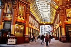 Leadenhall Market (chrisinphilly5448) Tags: london leadenhall market street perspective uk unitedkingdom victorian lambtavern youngs oldtomsbar england