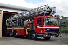 R816 CVG (markkirk85) Tags: fire engine appliance erf ec8 angloco bronto skylift f35 hdt norfolk service north earlham r816 cvg r816cvg