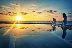 Ever felt like touching the sky?~ Lebanon (~mimo~) Tags: silhouette summer outdoors photography leamourhege child beauty anfeh sea mediterranean pool salt sunset lebanon
