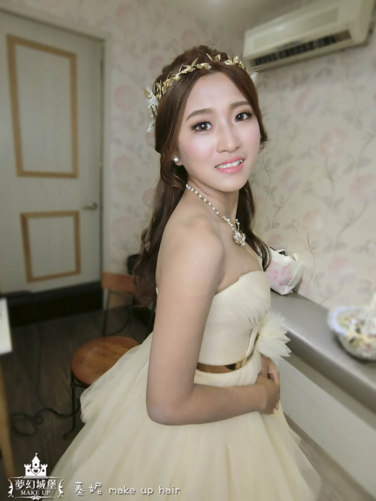 【新秘蓁妮】bride菡萱 訂結婚造型 / 中壢皇帝嶺