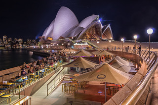 Sydney Opera House and Opera Bar