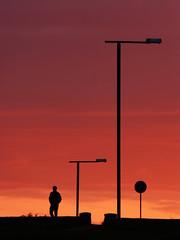 Figures (mannarocolombiano) Tags: finland finlandia suomi helsinki sunset dusk atardecer tramonto figures contrast contraluz backlighting siluetas silhouettes