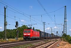 DB 185 134 (maurizio messa) Tags: br185 bombardier traxx mau bahn badenwürttemberg ferrovia freighttrain fret cargo germania germany guterzuge railway railroad treni trains nikond90