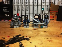 The Fearsome Meme of Four (LordAllo) Tags: lego dc fearsome hand of four batman under the red hood black mask