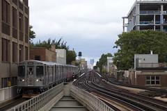 "On the ""L"" (imartin92) Tags: cta chicagotransitauthority 3200 brownline chicago illinois fullerton"