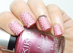 Pink mandala nails (Simona - www.lightyournails.com) Tags: pink stamping harunouta esmalte smalto vernis manicure unghie nails nailpolish nagellack naillacquer nailart nailstamping