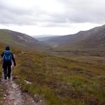 On the trail through the Lairig an Laoigh thumbnail