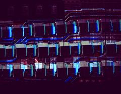kunst-in-karlsruhe (elmar theurer) Tags: enlightenment erleuchtung karlsruhe schloss schlossfestspiele laser light art artist blue believe nacht 2017 architektur projektion mapping architecture schlosslichtspiele