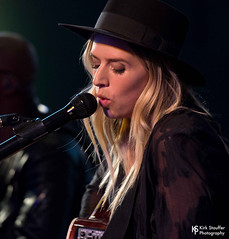 ZZ Ward @ Aloft Hotel (Kirk Stauffer) Tags: kirk stauffer nikon d5 adorable amazing attractive awesome beautiful beauty charming cute darling fabulous feminine glamour glamorous goddess gorgeous lovable lovely perfect petite precious pretty siren stunning sweet wonderful young female girl lady woman women live music tour concert show gig song sing singer singing songwriter vocals performer musician band group lights lighting indie rb rock soul long blonde hair blue eyes white teeth model tall fashion style portrait photo smile smiling playing acoustic guitar