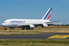 Air France / F-HPJI / Airbus A380 / LFPG-CDG taxiing / © (RVA Aviation Photography (Robin Van Acker)) Tags: planes trafic airlines avgeek airliner outdoor airplane aircraft vehicle jetliner jet jumbo air photography aviation aviationphotography paris cdg lfpg charlesdegaulle