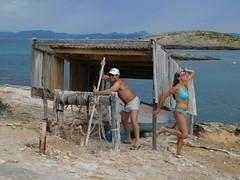It is an hard work (hantomax) Tags: formentera spain escavalldenborràs