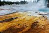 Yellowstone Hot Srings and Geysers (leeshelp) Tags: yellowstonepark yellowstone geyser hotspring hotsprings wyoming nationalpark oldfaithfull prismaticspring leeshelp park
