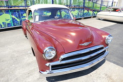 Chevrolet coupe (bballchico) Tags: 1949 chevrolet coupe goodguyspacificnwnationals carshow pattiharvey