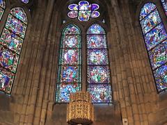LEON - LA CATEDRAL (VIDRIERAS 7) (mflinera) Tags: leon castilla catedral vidrieras arte