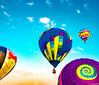 9.16.17 Balloonfest 14 Guttendorf (charlie_guttendorf) Tags: airshow ballon balloonfest guttendorf hotairballon hughesvillepa lycoming nikon nikond7000 bluesky colorful fall