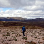 Crossing the plateau to Beinn a' Chaorainn thumbnail