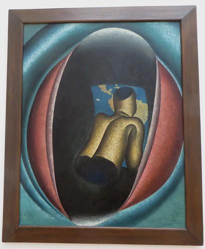"""""""Une nage de verre"""", 1926, Auguste Mambour (1896-1968), Musée de Grenoble, Grenoble, Rhône-Alpes-Auvergne, France."""