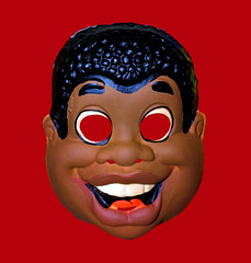 Fat Albert Halloween Mask 5880 (Brechtbug) Tags: fat albert halloween mask masks vintage presidents uncle sam united states america screen grab ben cooper collegeville halco usa us costume washington dc debates debate debating election campaign 2017 action figure holding apple african american toy toys 1970s 70s tv television cartoon character saturday morning animation