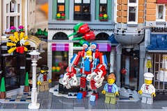Baby mecha (Milan Sekiz) Tags: lego baby mecha city modular