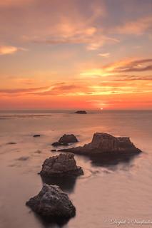 Garrapata Beach Sunset!