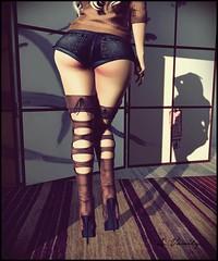 The View (alexxissvanity) Tags: secondlife sl avatar 3d mesh virtual pumec maitreya catwa bento slink kustom9 tresblah runaway izzies pumbynails bamboo addams fashion style trend boots heels beauty beautiful blonde autumn fall shadow shadows gimp avanity ass butt behind sexy