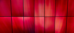 Red Flames on TV (Froschkönig Photos) Tags: red flames tv redflamesontv lg ifa 2017 oled