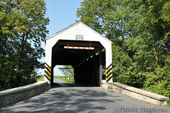 Shencks Mill Covered Bridge (Paula Stephens) Tags: covered bridge americana historic landmark building structure road transportation vintage rural lancaster pennsylvania