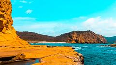 Playa de Los Frailes (Juan Alfredo 001) Tags: los frailes manabi parque nacional machalilla ecuador sudamérica beach agua azul piedras volcánica islote tusismo