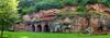 Cultural Rock (TablinumCarlson) Tags: europa europe deutschland germany brd nahe naheland guldental rheinlandpfalz rheinland leica dlux dlux6 kloster felsenkloster eremitage bretzenheim badkreuznach mithräum mithraeum mithraictemple mithraic temple kultstätte monastery abbey rockmonastery prechristian vorchristlichrelig sanctuary rock fels felsen roteerde steilwand panorama betzenheim höhlenkloster cave romans explore explored rhinelandpalatinate rhineland palatinate
