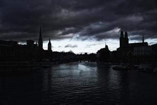 Zurich City Silhouettes