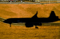Shadowed (hectic skeptic (Almost back)) Tags: iceland keyflavik seattle washington jet sky clouds smoke